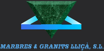 Marmoles, granito, basalto Logo